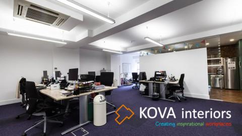 Prospectus office refurbishment, kova interiors