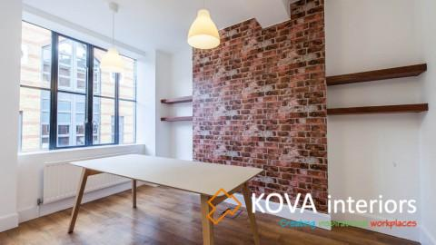 Prospectus office refurbishment, kova partitions