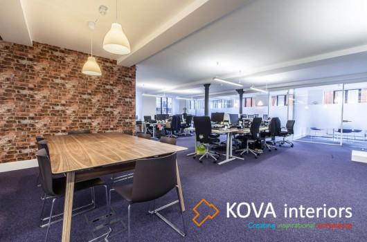 kova partitions, Prospectus office refurbishment