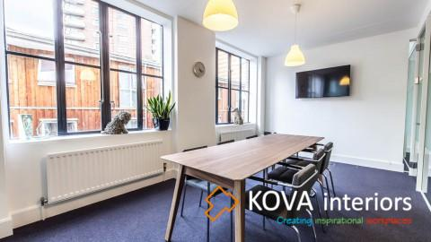 kova interiors, Prospectus office refurbishment