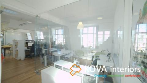 kova case studies, Locksmith Animation Office view