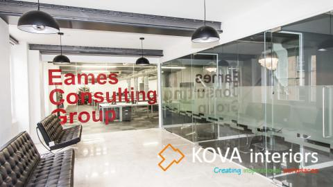 """Eames Consulting Group kova"", all-glass doors system"
