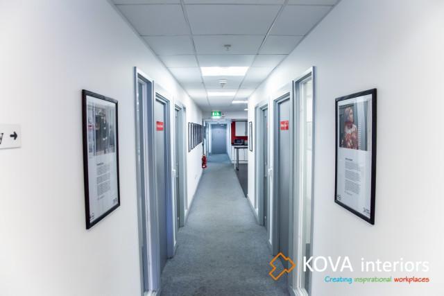 Voluntary Action Islington, kova partitions