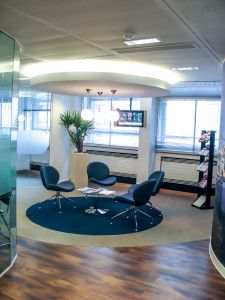 Office interior by KOVA for Oil & Gas UK