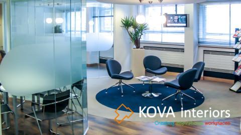Office interior kova partitions