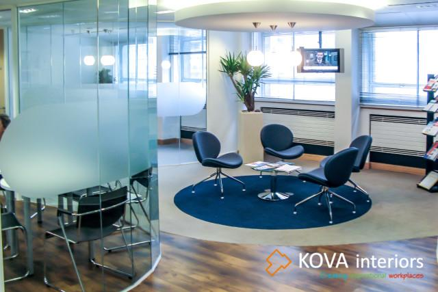 Office interior kova partitions