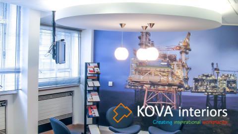 Office interior, kova, Oil & Gas UK