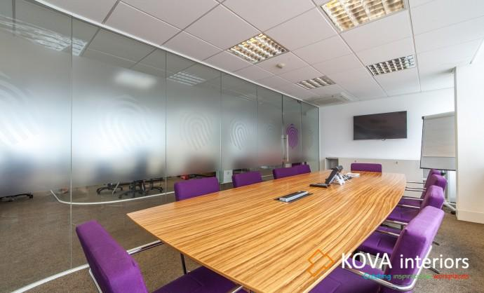 double glazed partition systems, kova partitions