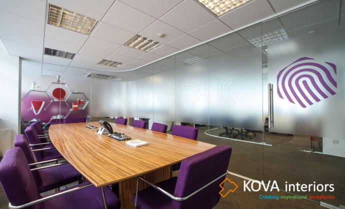 Decorative glass Film for Office