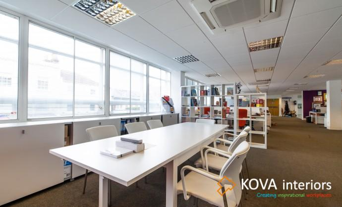 glass wall partitions for office, london
