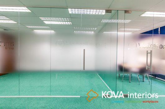 Glass partitions kova