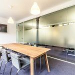 double glazed partition for Office