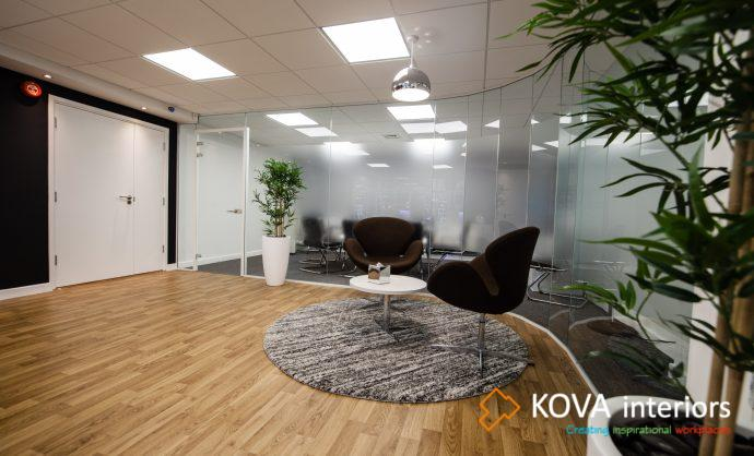 reception refurbishment from kova
