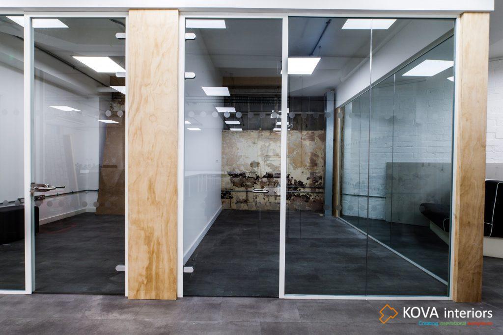 Framed Glass Door Kova