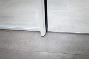 grey aluminium frame