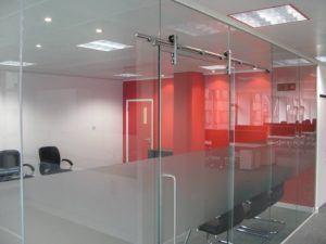 sliding glass door for Office