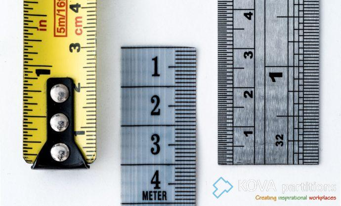 Office Glass Partitions Measuring Guide