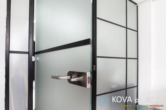 industrial style decor, London, Kova Partitions