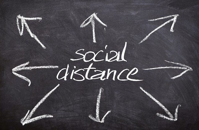 Social Distancing in Offices