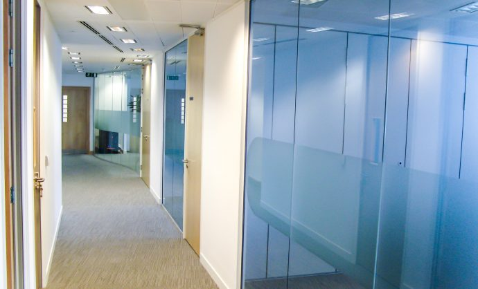 What are Glass Partitions